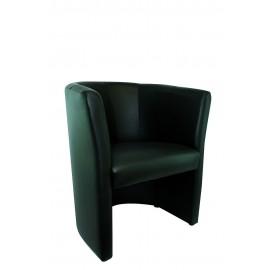 Canap s fauteuils et poufs prestaloc - Chauffeuse cuir blanc ...