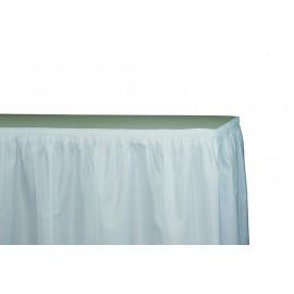 Juponnage blanc 500 x 75 cm ( velcr