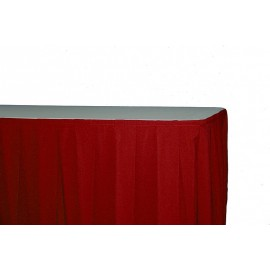 Juponnage bordeaux 500 x 75 cm ( ve