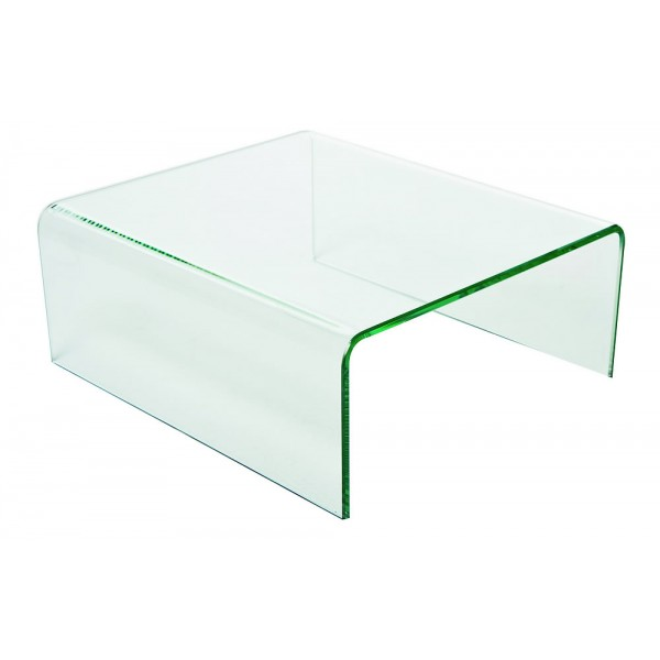 Support verre en U : L 32 cm P 36 H