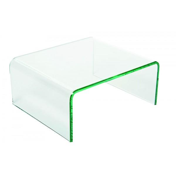 Support verre en U : L 28 cm P 24 H