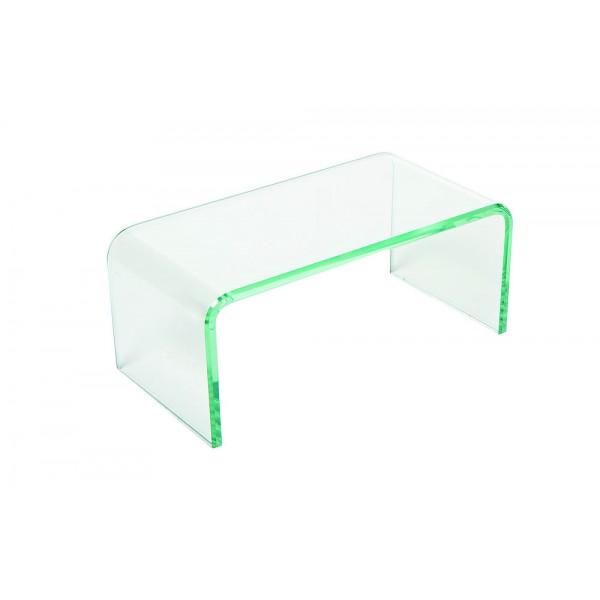 Support verre en U : L 24 cm P 12 H