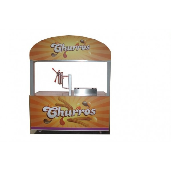 Chariot à Churros 400 v 9 KW L 203 P100 H 248 cm
