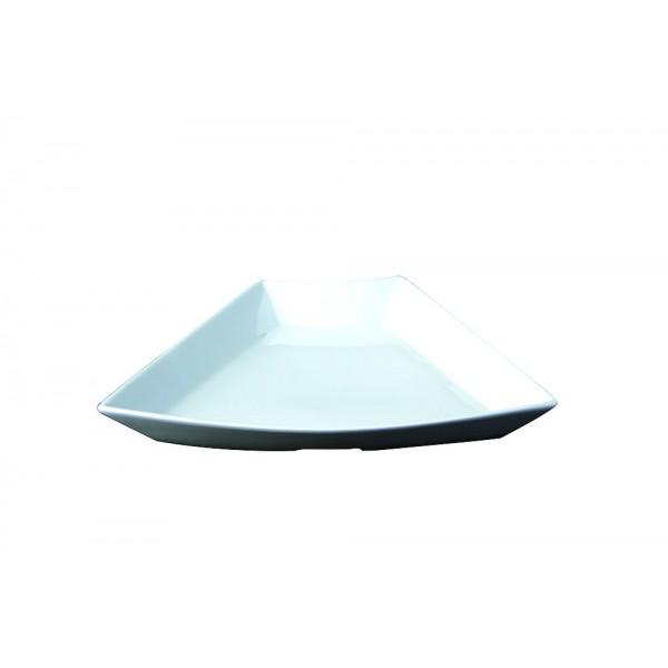 Plat buffet  concept blanc 30 cm x