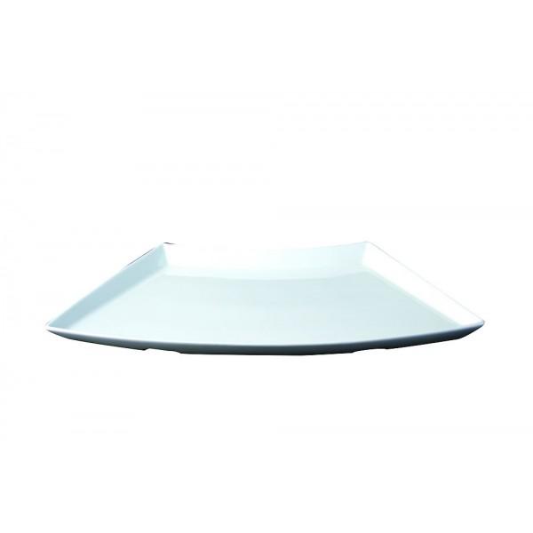 Plat buffet  concept blanc 51 cm x