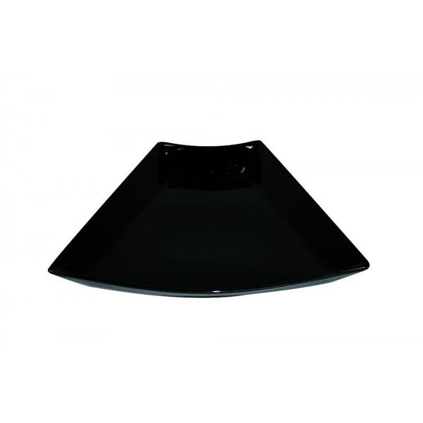 Plat buffet  concept noir 30 cm x 2
