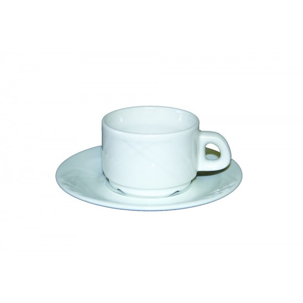Tasse et sous tasse à café Europa 9