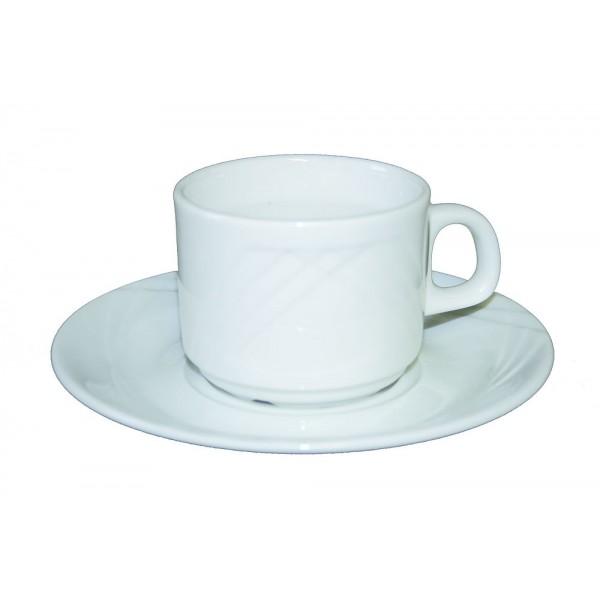 Tasse et sous tasse à thé Europa 18
