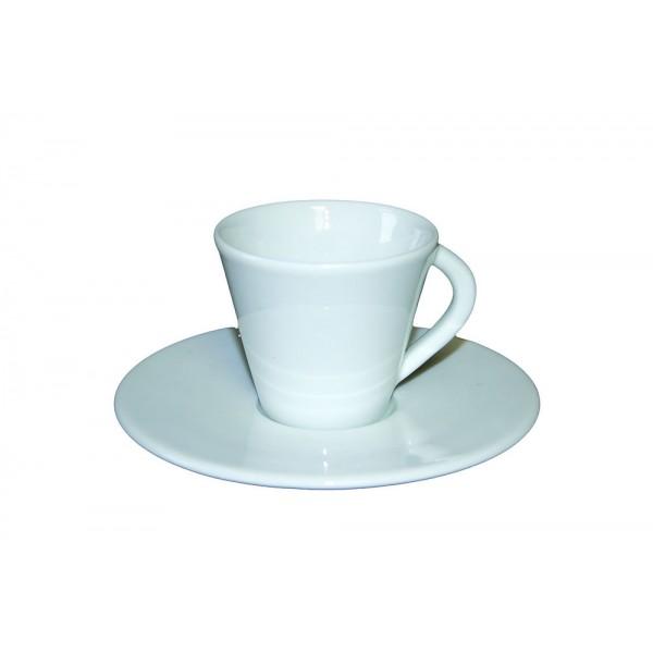 Tasse et sous tasse à café Léa 8 cl