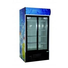 Armoire vitrée 800 litres froid po