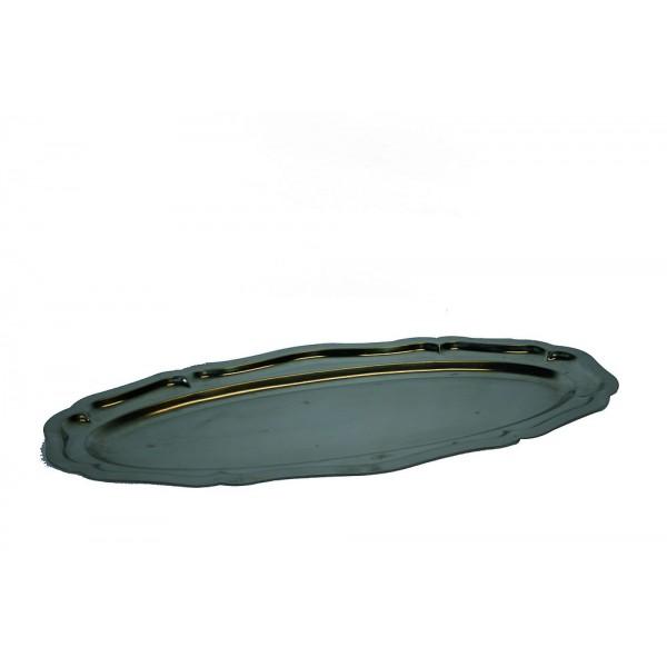 Plat ovale inox 60 cm ( torpilleur)