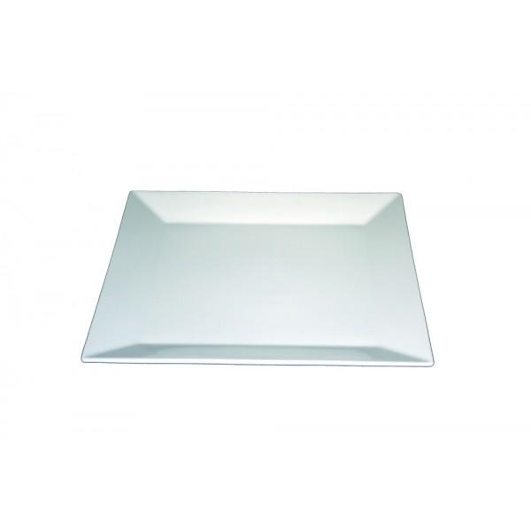 Assiette carrée Nubo 26,5 x 26,5 cm