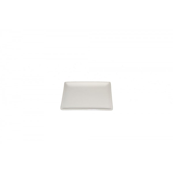 Assiette carrée Edina 13 x 13 cm