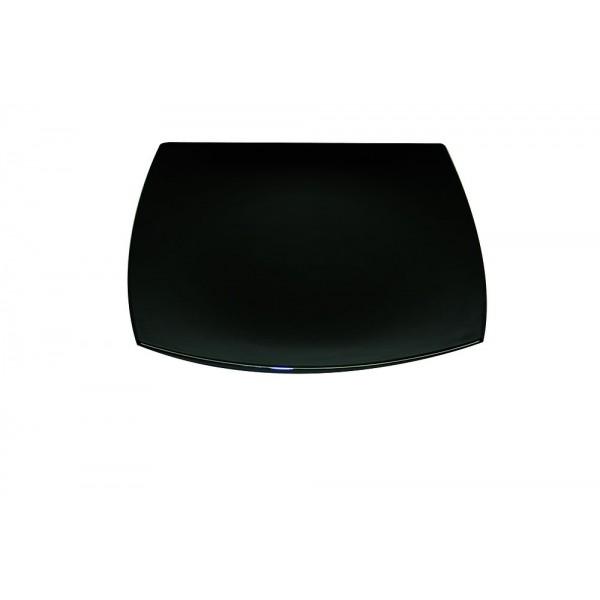 Assiette plate Délice Noir 26 cm