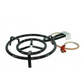 Brûleur 2 rampes propane pour poêle