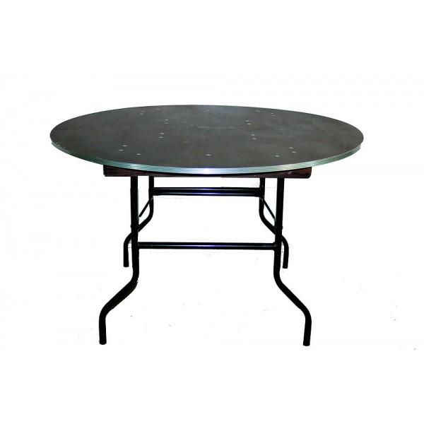 Table ronde pliante Ø 122 ( 4 pers.