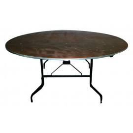 Table ronde pliante Ø 180 cm (10 pe