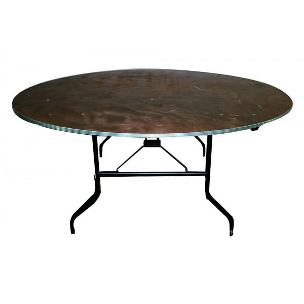 Table ronde pliante Ø 180 cm (10 pe