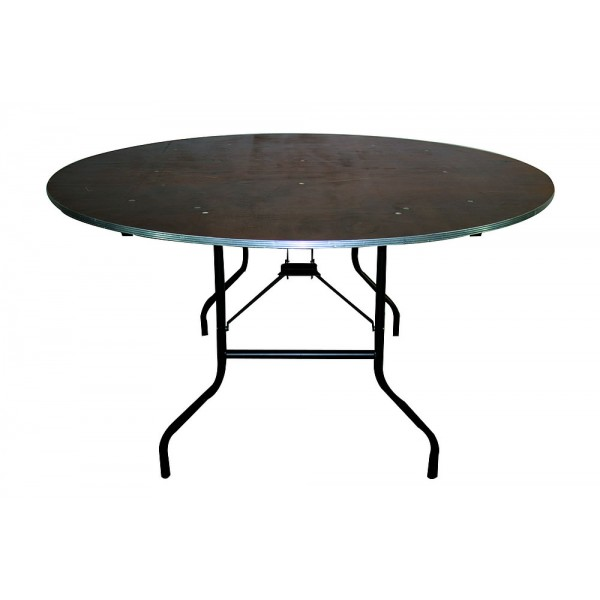 Table ronde pliante Ø 150 cm (6/8 p
