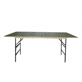 Table de buffet pliante 200 x 100