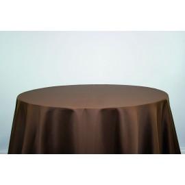 Nappe carrée 290 x 290 cm chocolat