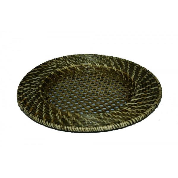 Dessous d'assiette en rotin Ø 32 cm