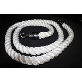 Cordeau blanc L 200 cm