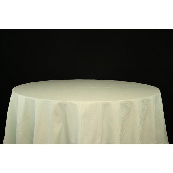 Nappe rectang.Vert tilleul 230 x 140 cm