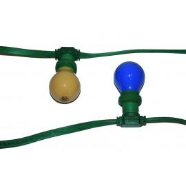 Guirlande électrique multicolore 10 m