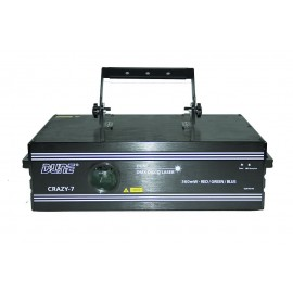 Laser 250 mW rouge/ vert / bleu