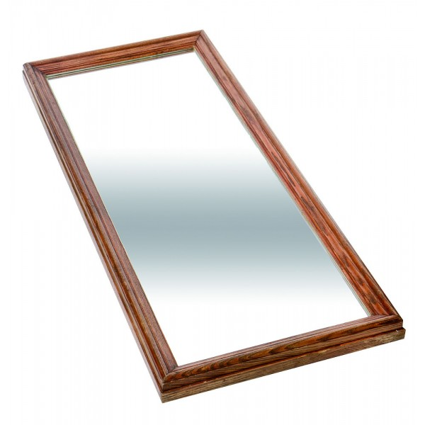Plateau miroir en bois 440 x 1040 c