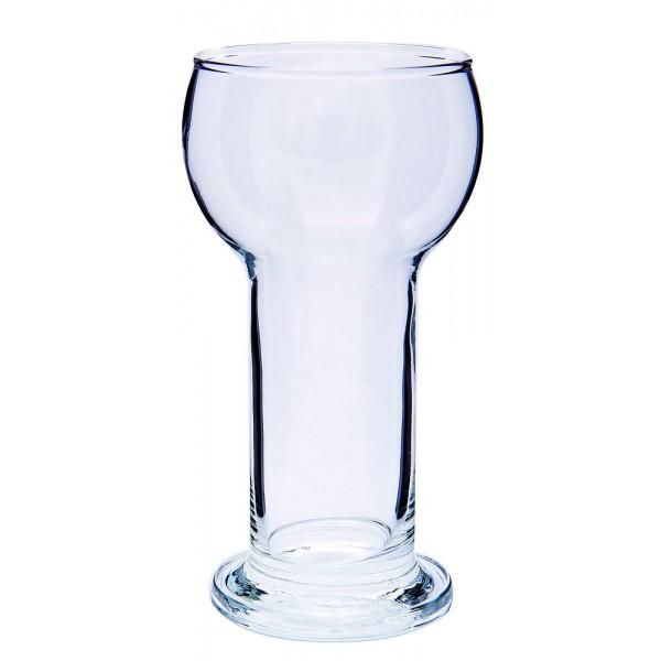 Photophore en verre Ø 8cm H 17 cm
