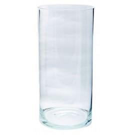 Vase cylindrique Ø 17 H 35 cm