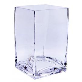 Vase carré 9 x 9 H 15 cm
