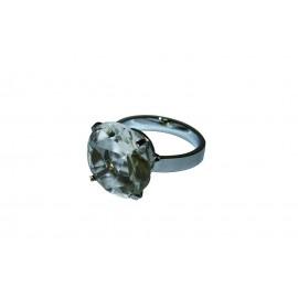 """Rond de serviette métal """"diamant"""""""