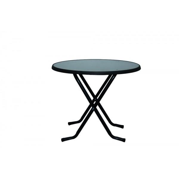 terrasse pliante Ø Table cm 80 ronde shrCdtoQxB