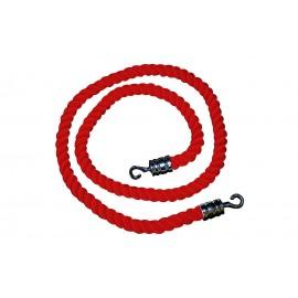 Cordeau bordeaux L 150 cm