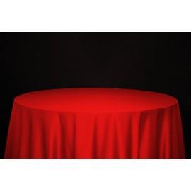 Nappe 290 x 290 cm rouge