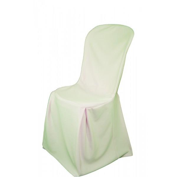 Housse écrue pour chaise Bistrot résine