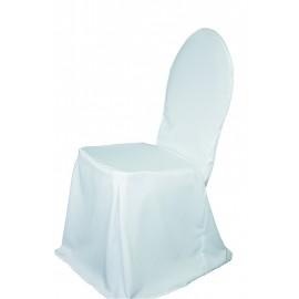 Housse blanche pour chaise Fontainebleau