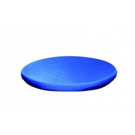 Surnappe mange-debout stretch bleue