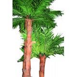 Palmier artificielle 3 troncs H 5 m